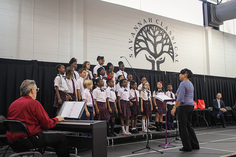 SAVANNAH CLASSICAL ACADEMY HOSTS COMMUNITY PARTNER APPRECIATION EVENT AND LAUNCHES DONOR RECOGNITION PROGRAM