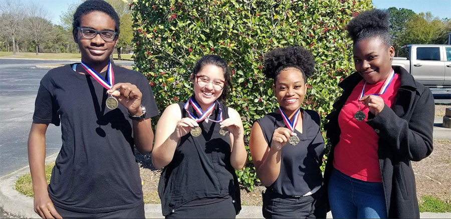 Savannah Classical Students Win Five Medals At State Literary Competition